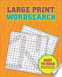 Large Print Wordsearch