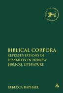Biblical Corpora