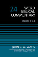 Isaiah 1 33  Volume 24