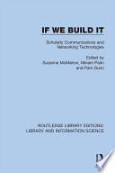 If We Build It Book