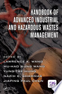 Handbook Of Advanced Industrial And Hazardous Wastes Management Book PDF