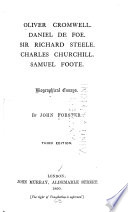 Oliver Cromwell Daniel De Foe Sir Richard Steele Charles  Front Cover Essay Writing On Newspaper also Science And Society Essay  Custom Writint Services