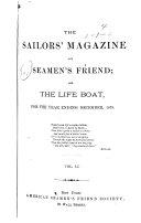 The Sailors  Magazine and Seamen s Friend