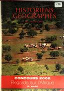 Historiens et géographes