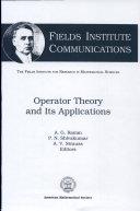 Operator Theory and Its Applications [Pdf/ePub] eBook