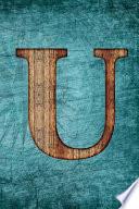 Monogrammed Notebook - U