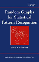 Random Graphs for Statistical Pattern Recognition