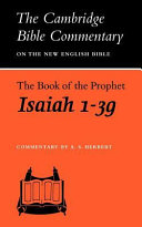 The Book of the Prophet Isaiah  1 39
