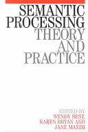 Semantic Processing