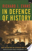 Cover of In Defence of History