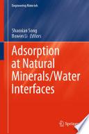 Adsorption at Natural Minerals Water Interfaces