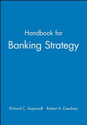 Handbook for banking strategy Book