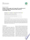 Design of Neutrosophic Self Tuning PID Controller for AC Permanent Magnet Synchronous Motor Based on Neutrosophic Theory
