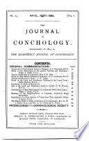 The Quarterly Journal Of Conchology