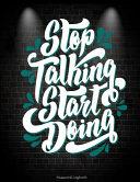 Stop Talking Start Doing: Password Logbook