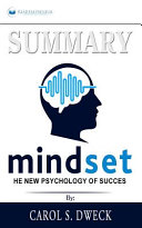 Summary of Mindset