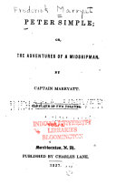 Peter Simple; Or, The Adventures of a Midshipman