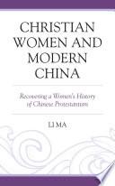 Christian Women and Modern China
