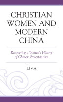 Christian Women and Modern China
