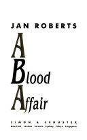 A Blood Affair