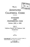 West s Annotated California Codes