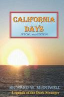 California Days Book