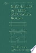 Mechanics of Fluid Saturated Rocks
