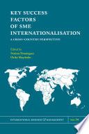 Key Success Factors of SME Internationalisation Book