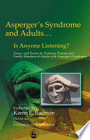 Asperger s Syndrome and Adults   is Anyone Listening
