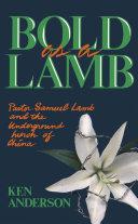 Pdf Bold as a Lamb