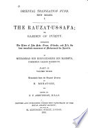 The Rauzat-us-safa: v. 1-2. The life of Muhammad the apostle of Allah