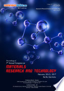 Proceedings of 7th Annual Congress on Materials Research and Technology 2017