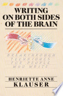 Writing on Both Sides of the Brain