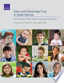 Early and School Age Care in Santa Monica