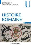 Pdf Histoire romaine - 5e éd. Telecharger