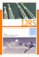 International Journal of Religion and Sport