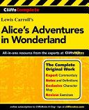 CliffsComplete Alice s Adventures in Wonderland