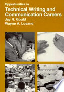 Opportunities in technical writing and communications careers