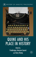 Quine and His Place in History