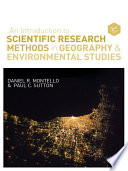 An Introduction to Scientific Research Methods in Geography and Environmental Studies Book