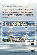 European Integration and Baltic Sea Region Studies  University Business Partnership through the Triple Helix Approach