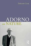 Adorno on Nature