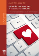 Pdf Intimités amoureuses à l'ère du numérique Telecharger