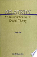 Relativity  An Introduction to the Special Theory