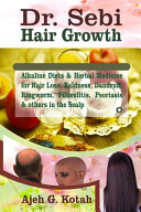 Dr  Sebi Hair Growth Book