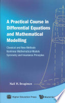 A Practical Course In Differential Equations And Mathematical Modelling Book PDF