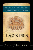 1 & 2 Kings (Brazos Theological Commentary on the Bible)