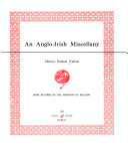 An Anglo Irish Miscellany