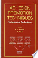 Adhesion Promotion Techniques Book