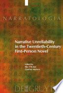 Narrative Unreliability in the Twentieth Century First Person Novel